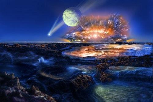Praoceani na Zemlji u kojima je nastao život (Izvor: S dopuštenjem Dona Dixona, Cosmographica.com)