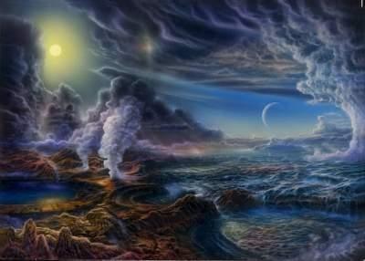 Zemljina praatmosfera (Izvor: S dopuštenjem Dona Dixona / Cosmographica.com)