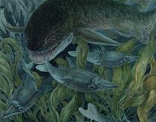 Porolepis - jedan od najranijih predatora ranog devona (D. W. Miller)