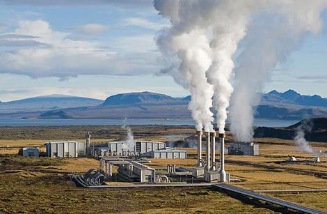 Geotermalna elektrana na Islandu (foto: Wikipedia)