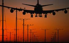 Slijetanje aviona (foto: Videomix.ro)