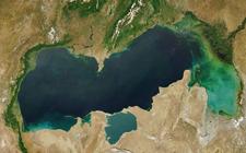 Kaspijsko jezero (foto: NASA)