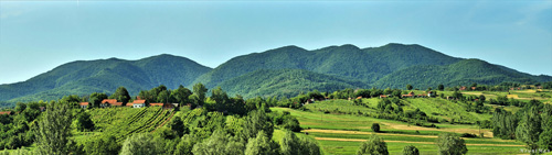Južna strana planine Ivanščice (foto: Mounman / ImageShack)