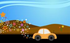 Ilustracija ekološki prihvatljivog automobila (foto: FreeDigitalPhotos)