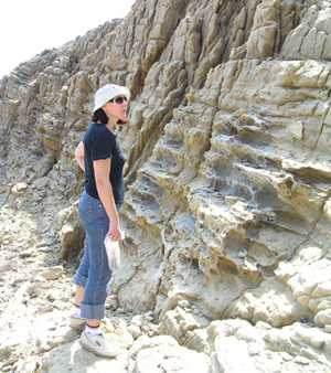Prof. dr. sc. Jasenka Sremac istražuje geologiju otoka Raba