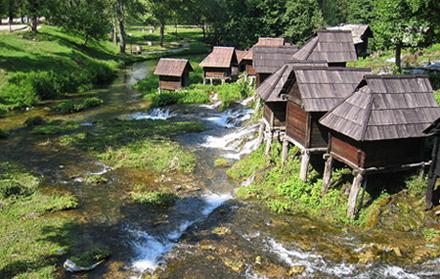 Vodenice na rijeci Plivi,  BiH (foto: Wikimedia Commons)