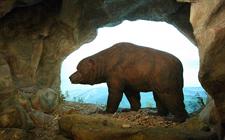 Muzejski model špiljskog medvjeda (foto: Flickr)